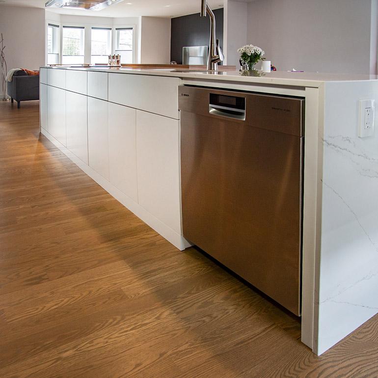 Thermoplastic cabinet doors