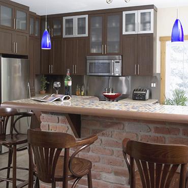 Comptoirs cuisine c ramique cuisines beauregard - Comptoir pour cuisine ...