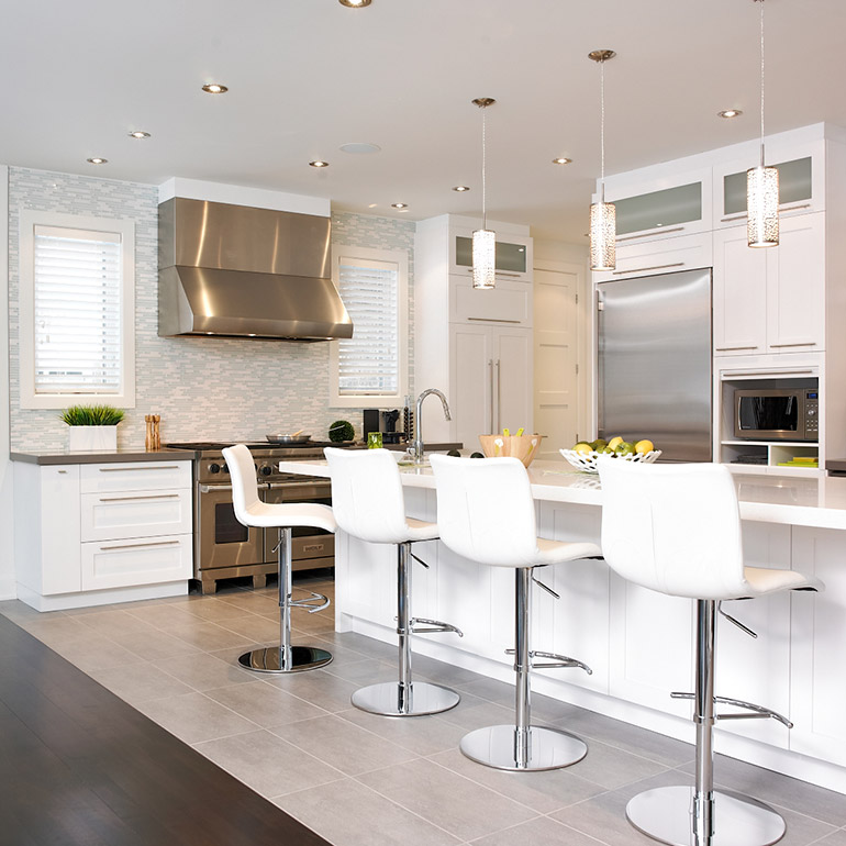 Fabricant de cuisines cuisines beauregard for Photos de cuisine contemporaine