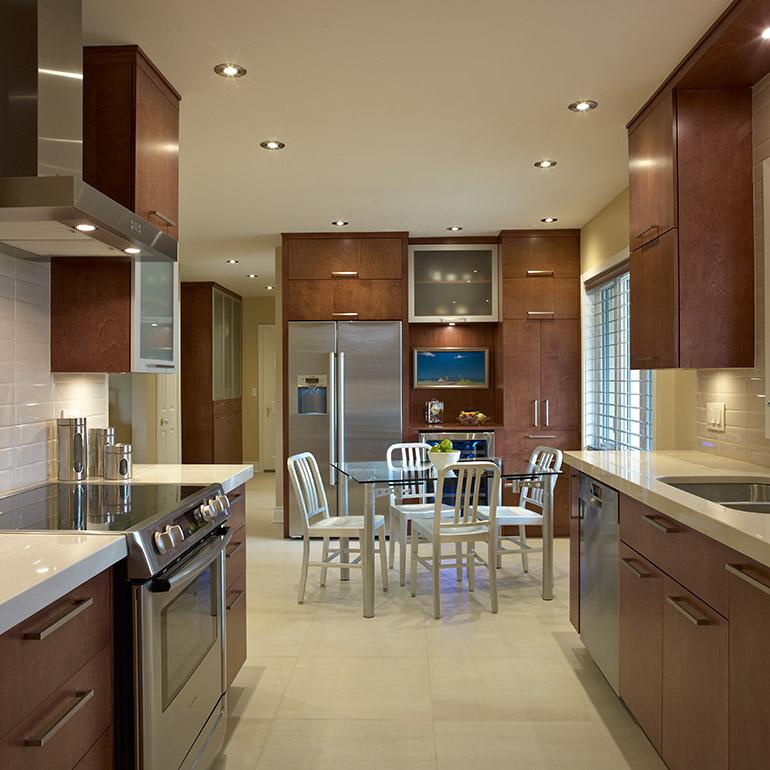 Fabricant de cuisines cuisines beauregard for Cuisine contemporaine bois
