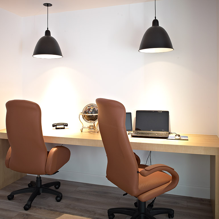 Custom-made office furniture
