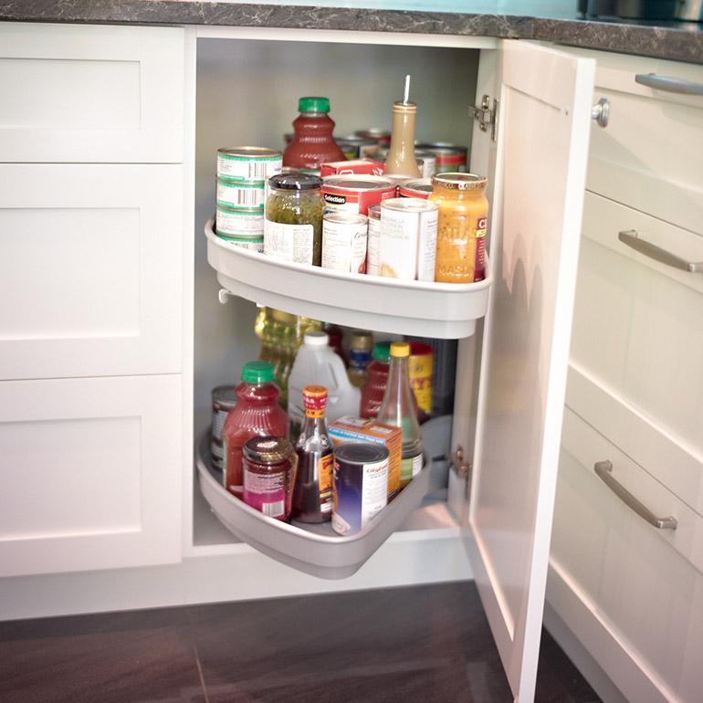 cuisines beauregard accessoire syst me de rangement r alisation 318 rangement efficace dans. Black Bedroom Furniture Sets. Home Design Ideas