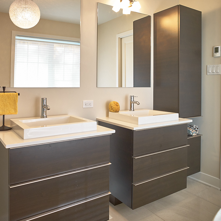 Fabricant de salles de bain cuisines beauregard for Salle de bain contemporaine