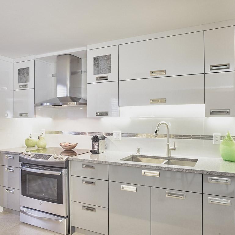 Cuisines beauregard cuisine r alisation 343 cuisine for Cuisine quartz gris