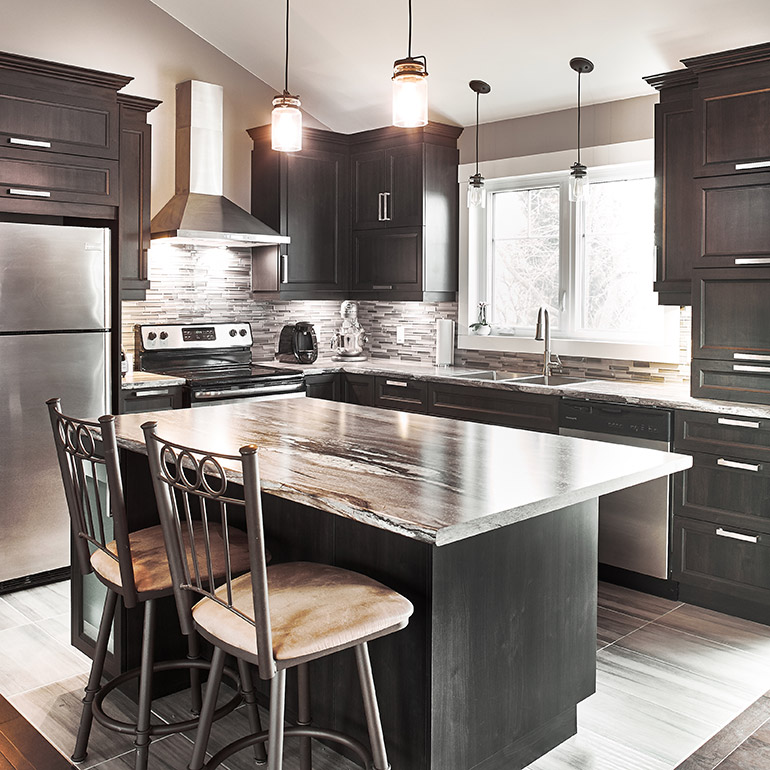 Cuisines Beauregard | Kitchen | Project 357 Contemporary Style