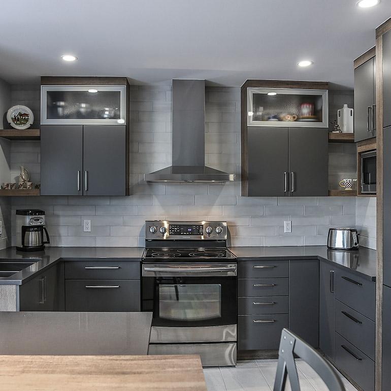 Cuisines beauregard armoires de cuisine r alisation for Cuisine beauregard