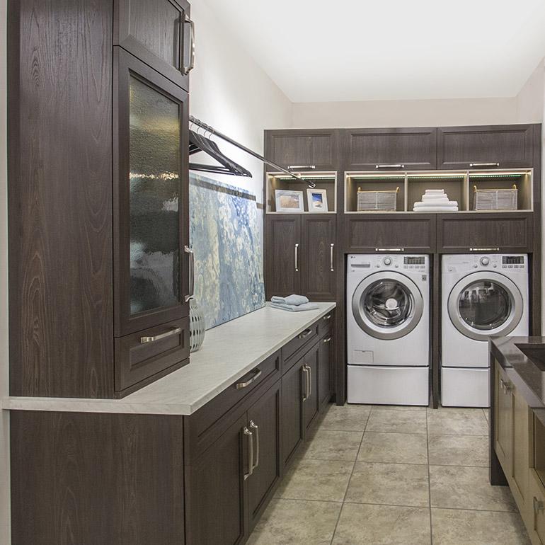 Cuisines beauregard salle de lavage r alisation b13 for Salle de bain fonctionnelle