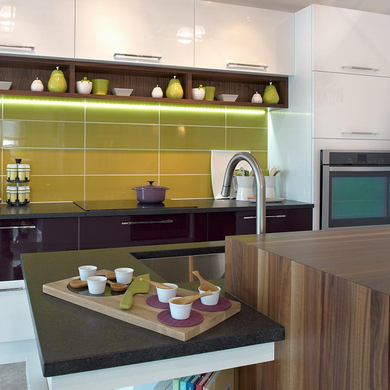 Comptoirs cuisine bois massif cuisines beauregard for Cuisine beauregard