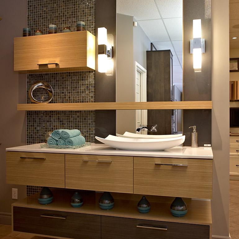 Salle de bain urbaine