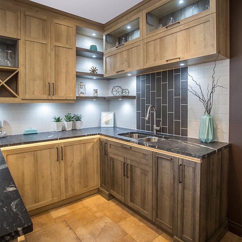 Cuisines beauregard cuisine r alisation g8 armoires de for Armoire cuisine granby