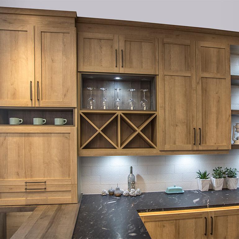 Cuisines beauregard cuisine r alisation g8 armoires de for Armoire de cuisine rustique