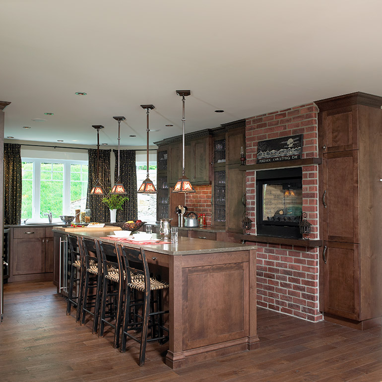 Cuisines Beauregard | Country kitchen in solid wood